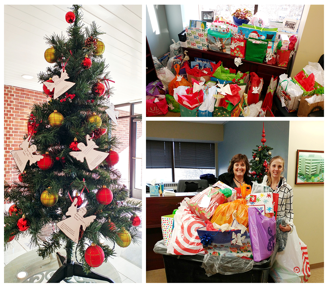 Image: 2016 Holy Family Institute Angel Tree Donations